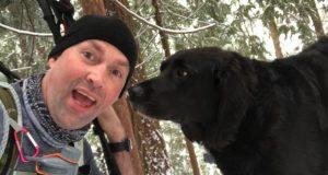 Mystisk hund følger etter par i skogen. Når de ser halsbåndet hans, innser de hva han vil.