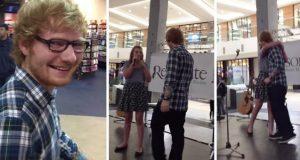 Ed Sheeran hørte henne synge en av hans sanger på et kjøpesenter. Da gjorde han dette.