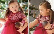 4-åring med Downs syndrom utvalgt til å være stjerne i kjent katalog for barn – gratulerer!