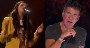 Den norske 14-åringen synger Elton John-klassiker. Simon Cowell blir etterlatt stum.