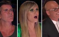 Deltager synger med kvinnelig røst – SNUR SEG og får Simon til å utbryte: «Utrolig!»