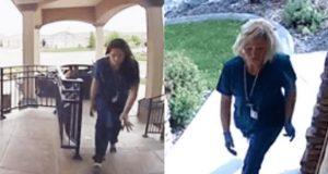 Svindlere kler seg ut som sykepleiere for å stjele fra eldre – her blir de fanget på film.