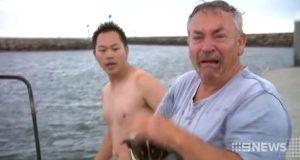 Fisker overveldet av glede når han gjenforenes med hund han trodde var druknet