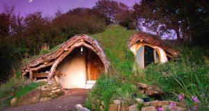 En mann bygget dette hobbit-huset fra scratch på kun 4 måneder.