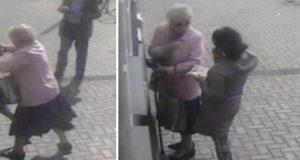 81 år gammel dame blir overfalt ved minibanken, men da får raneren sitt livs sjokk.
