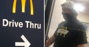 McDonald's-ansatt gjør en god gjerning for tårevåt mor i drive-thruen.