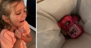 6-åringen kaster gaven i søpla. Da gir mamma henne en lærepenge for livet!
