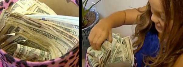 7-åring kommer hjem med kasse kontanter – sjokkerer moren når hun sier hvordan hun fikk dem.
