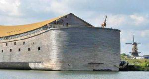 Mann brukte årevis på å bygge en kopi av Noahs ark i full størrelse
